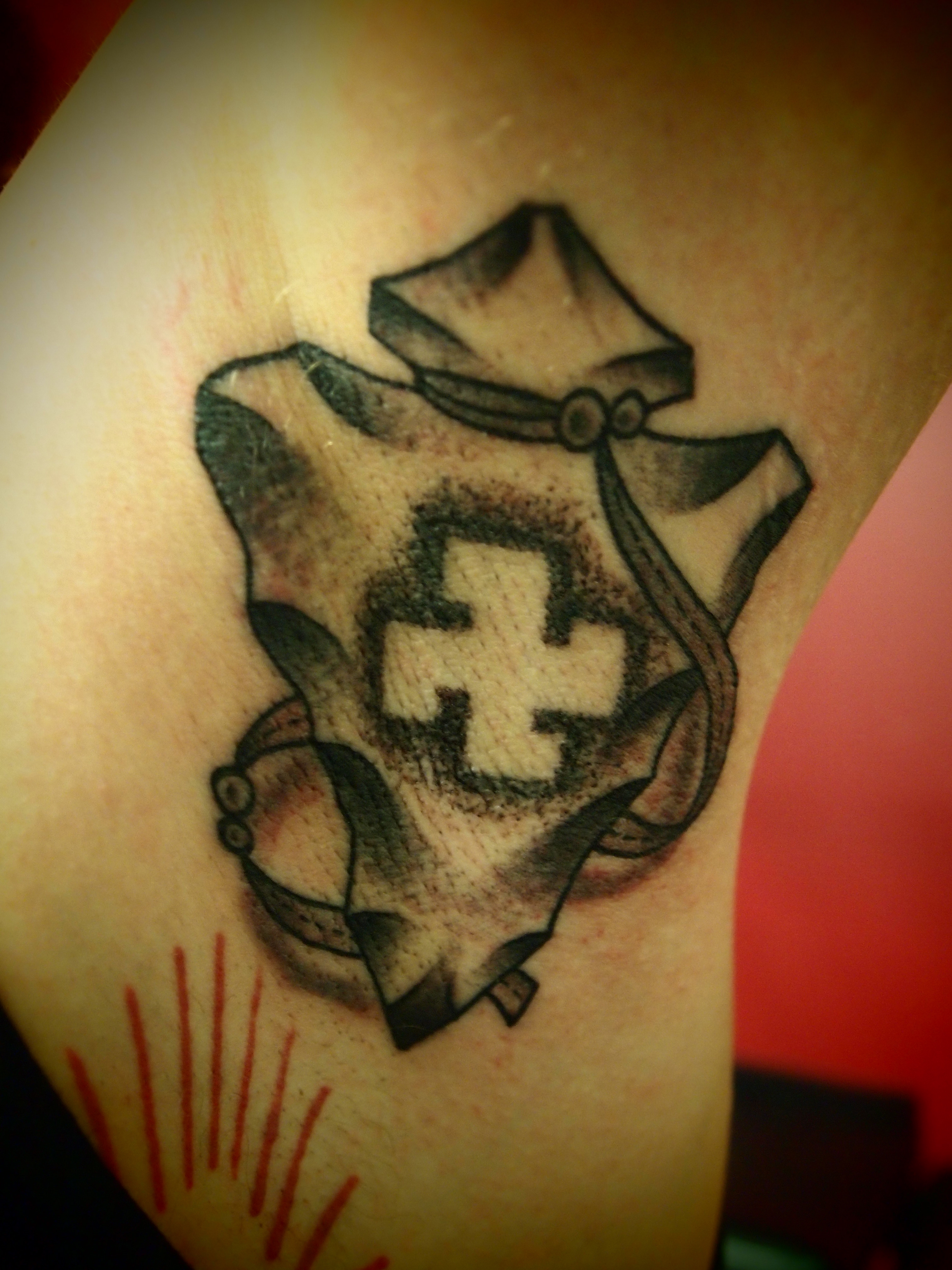 Image search: Native American Arrowhead Tattoo